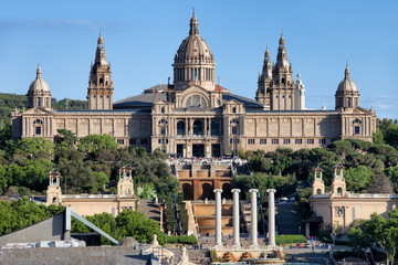 National Art Museum of Catalonia at Montjuic in Barcelona