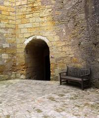 Porche d'entrée: château d'Amboise.