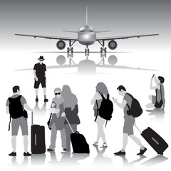 Traveling people
