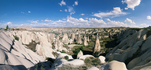 Goreme, town and valley in Cappadocia
