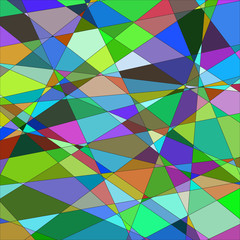 Abstract background with triangles. №2 Raster