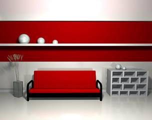 divano e sfere