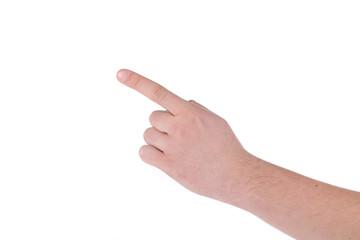 Hand figures show