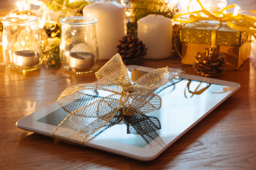 Digital tablet christmas gift