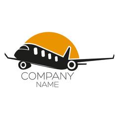an logo is an airplane