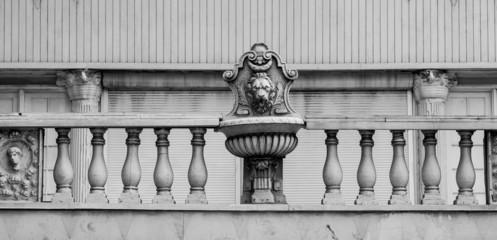 Detail on Old Nassau Bank Building