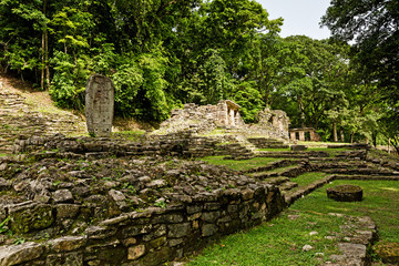 Yaxchilan archeological site, Chiapas, Mexico