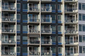 Appartements mit Balkon