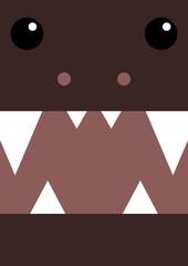 Halloween monster banner
