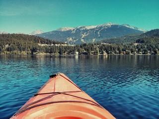 Kayak in Whistler, Canada