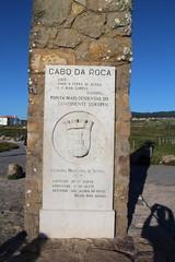 Memorial plaque in Cabo da Roca, Portugal
