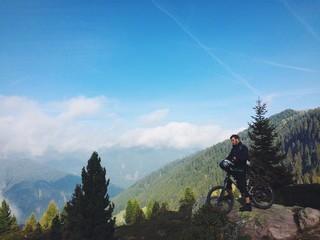 Panorama downhill