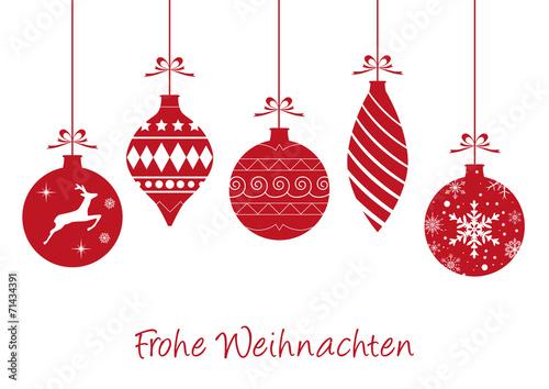 Weihnachtskarte - 71434391