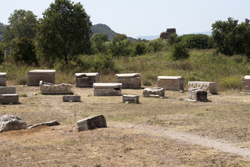 Ancient roman tombs