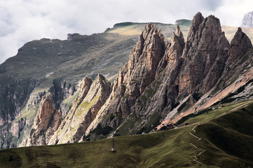 Italian Alps, Dolomites in Summer