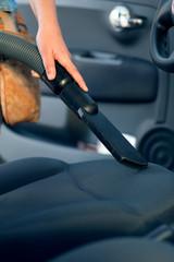 Vacuum cleaner at car wash