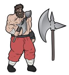 Axe barbarian