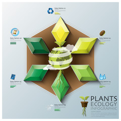Leaf Shape Three Dimension Polygon Ecology And Environment Infog