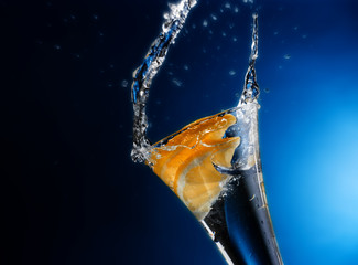 acqua e scorze di arancio