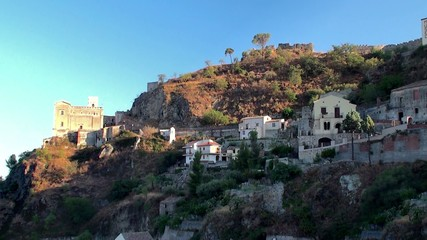 "Savoca village (filming location of ""The Godfather""). Sicily"