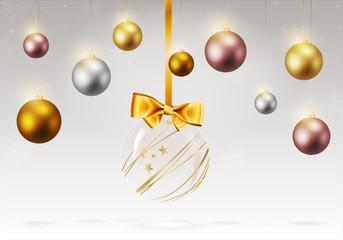 Hintergrund Weihnachten Christmas Kugeln