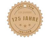 je125 JubiläumsEtikett 125 - vintagedesign - 125 Jahre - g2025