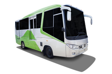 New bus for modern transportation