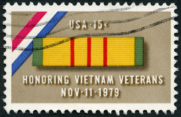 USA - 1979: shows Ribbon for Viet Nam Service Medal