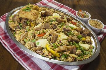 Baião de dois, Baião of two Brazilian Typical Food
