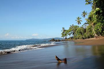 Beach in Drake Bay, Osa Peninsula, Costa Rica