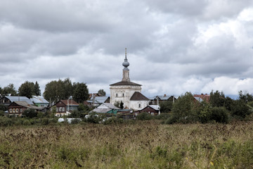 Church of Our Lady of Tikhvin. Suzdal, Golden Ring of Russia.