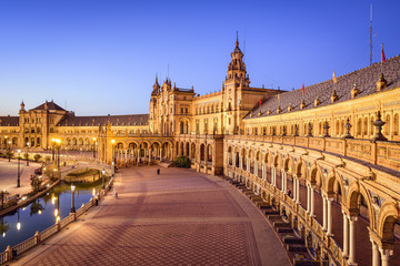 Seville, Spain at Spanish Square