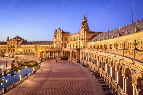 Seville, Spain at Spanish Square - 71439568