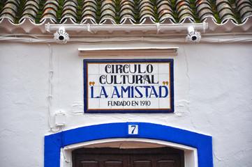 San Carlos del Valle, Ciudad Real, La Amistad
