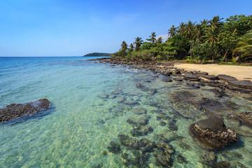 tropical beach at Koh Kood island, Thailand