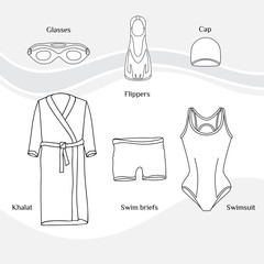 Clothes for swimmers 3
