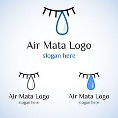 Air Mata Logo Template