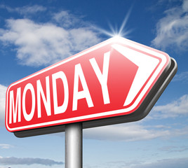 monday sign