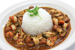 gumbo with crawfish, chicken & sausage - 71441555