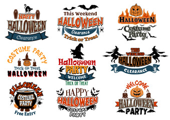 Halloween vector designs