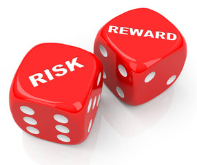 risk and reward dices