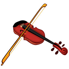 Musical instrument violin