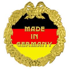 goldener Kranz - Made in Germany