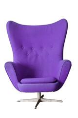 Luxury Modern Purple Chair