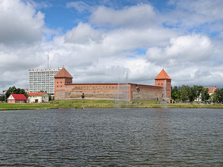 View of Lida Castle, Belarus