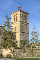 church of San Esteban in Muruzabal (Navarra) - Spain