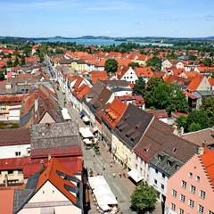 FÜSSEN im Alllgäu - Stadtpanorama