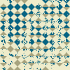 Textured triangle seamless pattern background. Vector file