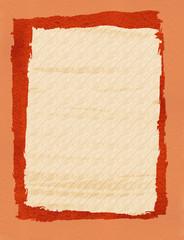 Briefpapier Struktur Ocker Pastell