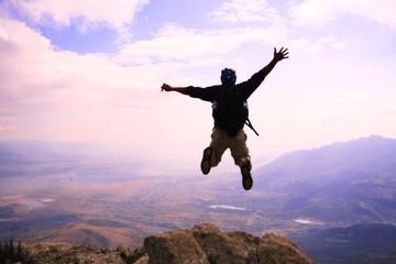 zirvede başarı mutluluğu